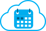 Calendar icon for reservation services