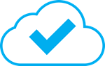 Checkmark icon for event management system