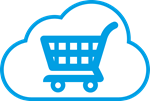 E-commerce shopping cart icon