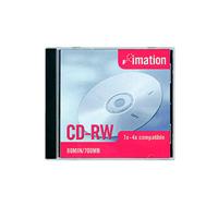 CD-RW-levy, Imation 1-4x, -tuotekuva CD-R-levyt