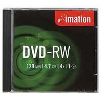 DVD-RW-levy, Imation, 4x, -tuotekuva CD-R-levyt