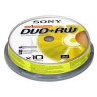DVD-RW-levy, Sony DVD-RW -tuotekuva CD-R-levyt