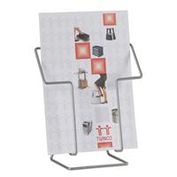 Esitetelineet pöydälle Esiteteline pöydälle A4, -tuotekuva