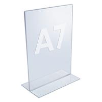 Esitetelineet pöydälle Esiteteline pöydälle, A7, -tuotekuva