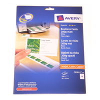 Käyntikortit Käyntikortti, Avery -tuotekuva