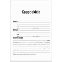 Kauppakirjalomakkeet Kauppakirjalomake, P019, -tuotekuva