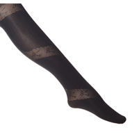 Kuvioidut sukkahousut Kuvioidut sukkahousut, -tuotekuva