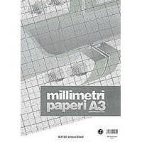 Millimetrilehtiöt Millimetrilehtiö, A3/20, -tuotekuva