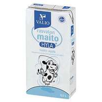 Rasvattomat maidot Rasvaton maito, Valio -tuotekuva