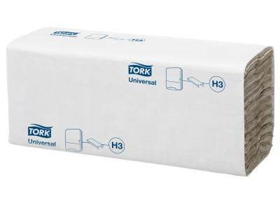'Käsipyyhe, Tork C-fold, H3, luonnonvalkoinen, 1 säk/24'