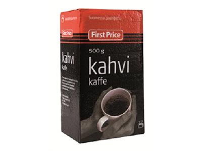'Kahvi, First price, 500g suodatinjauhatus'