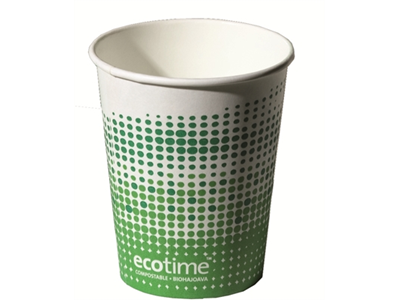 'Kartonkipikari, Ecotime, Biohajoava 250 ml, 1 pkt/80'