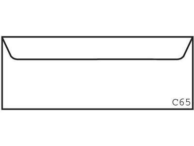 'Kirjekuori, Postac C65 RHST, valkoinen, 1 ltk/1000'