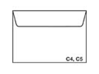 'Kirjekuori, Postac C4 VST, ruskea, 1 ltk/500'