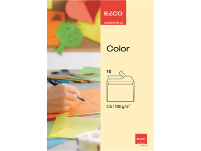 'Kirjekuori, Elco Color C5, Tarra, St Kerma, 1 pkt/10'