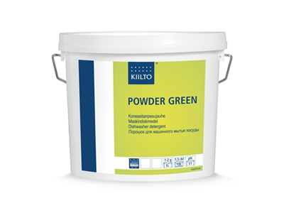 'Konetiskijauhe, Kiilto, Powder green MD2, 3kg'