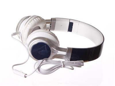 'Kuulokkeet, On-Ear, sini-valkoinen, taittuvat'