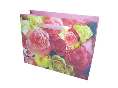 'Lahjakassi, Ruusu pastelli, 324x133x254'