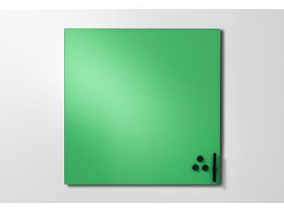 'Lasikirjoitustaulu, Mood, 300x300, vihreä (hopeful 510)'