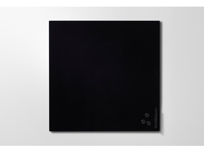 'Lasikirjoitustaulu, Mood, 500x500, musta (elegant 100)'