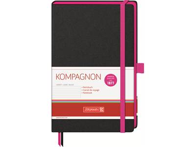'Muistikirja, Kompagnon trend, a5/192 pinkki'