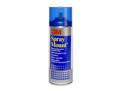 'Sprayliima, 3M, 9475 spraymount tarraliima, 400 ml'