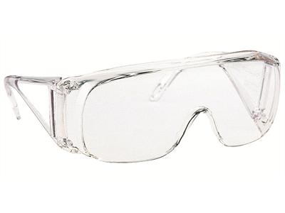 'Suojalasit, Virtua, silmälasimallinen suojalasi keltainen, 3M'