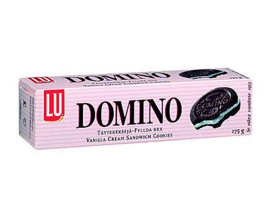 'Täytekeksi, Lu Domino 175g'