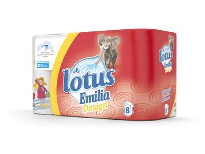 'Talouspaperi, Lotus Emilia Design, 1 säk/24'