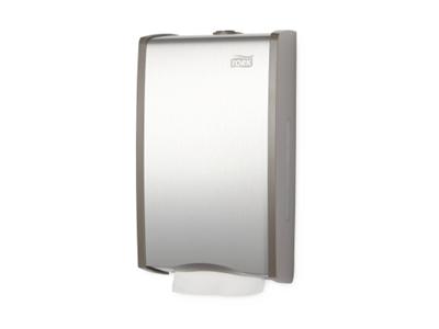 'WC-paperiannostelija, Tork Arkitetulle wc-paperille, T3, alumiini/harmaa'