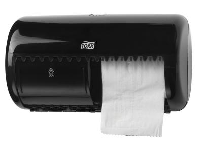 'WC-paperiannostelija, Tork T4, musta'