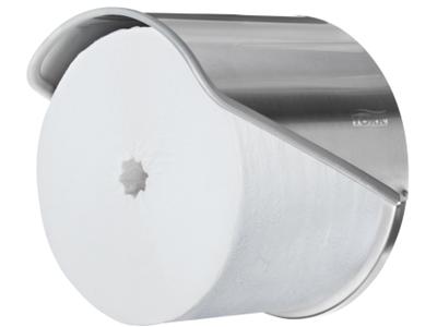 'WC-paperiannostelija, Tork Mid-size hylsyttömälle wc-paperille, T7, teräs'